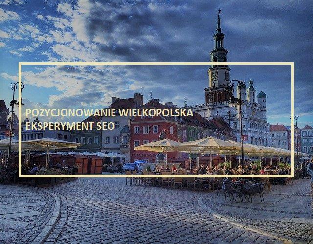 Pozycjonowanie stron Poznań - Wielkopolska